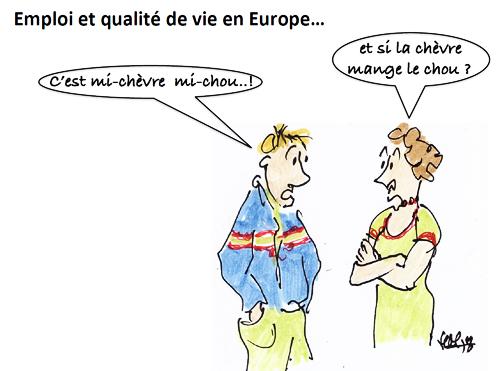 Ou En Sont L Emploi Et La Qualite De Vie En Europe Les